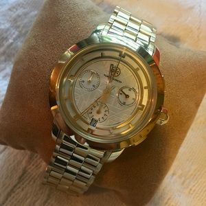 Tory Burch Gold Stainless Womens watch NWT